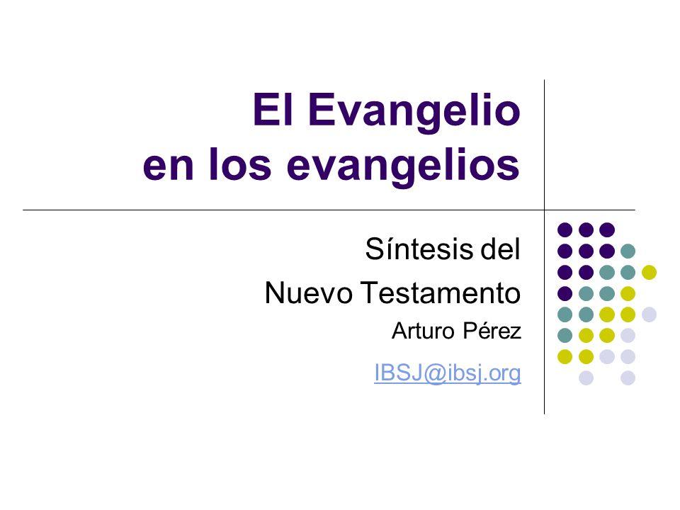 El Evangelio en los evangelios
