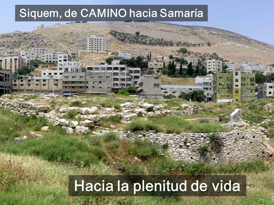Siquem, de CAMINO hacia Samaría Hacia la plenitud de vida
