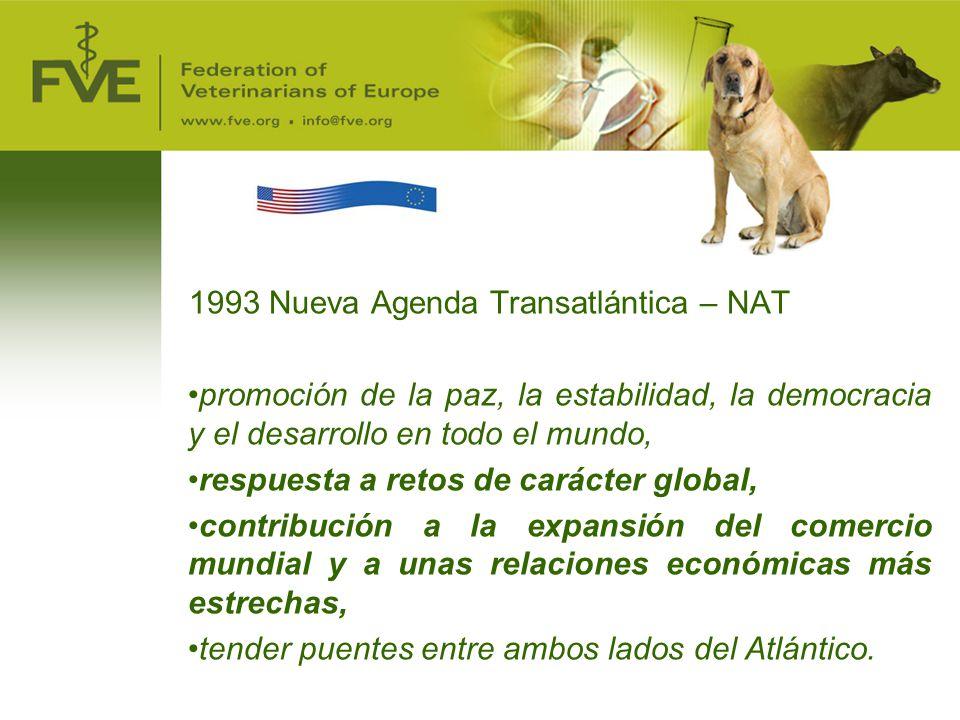 1993 Nueva Agenda Transatlántica – NAT