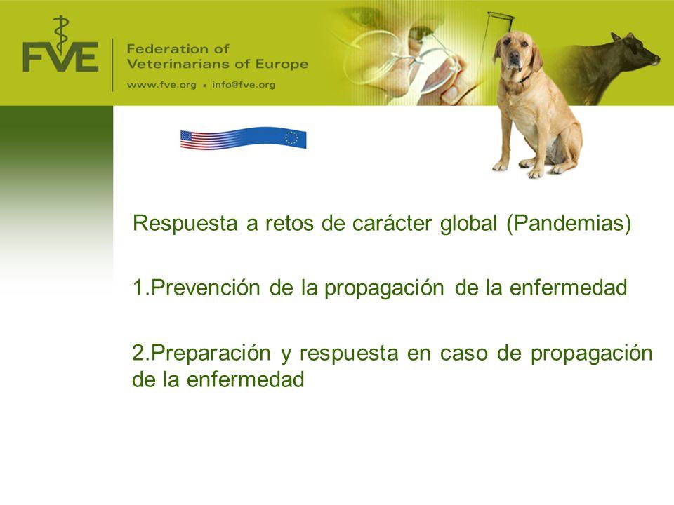 Respuesta a retos de carácter global (Pandemias)