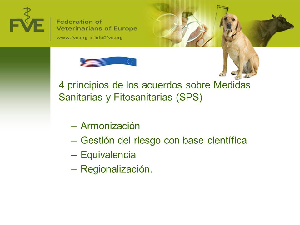 Gestión del riesgo con base científica Equivalencia Regionalización.
