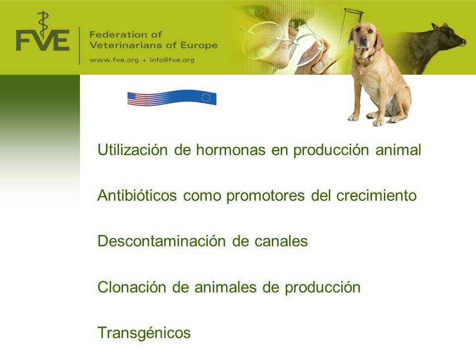 Utilización de hormonas en producción animal