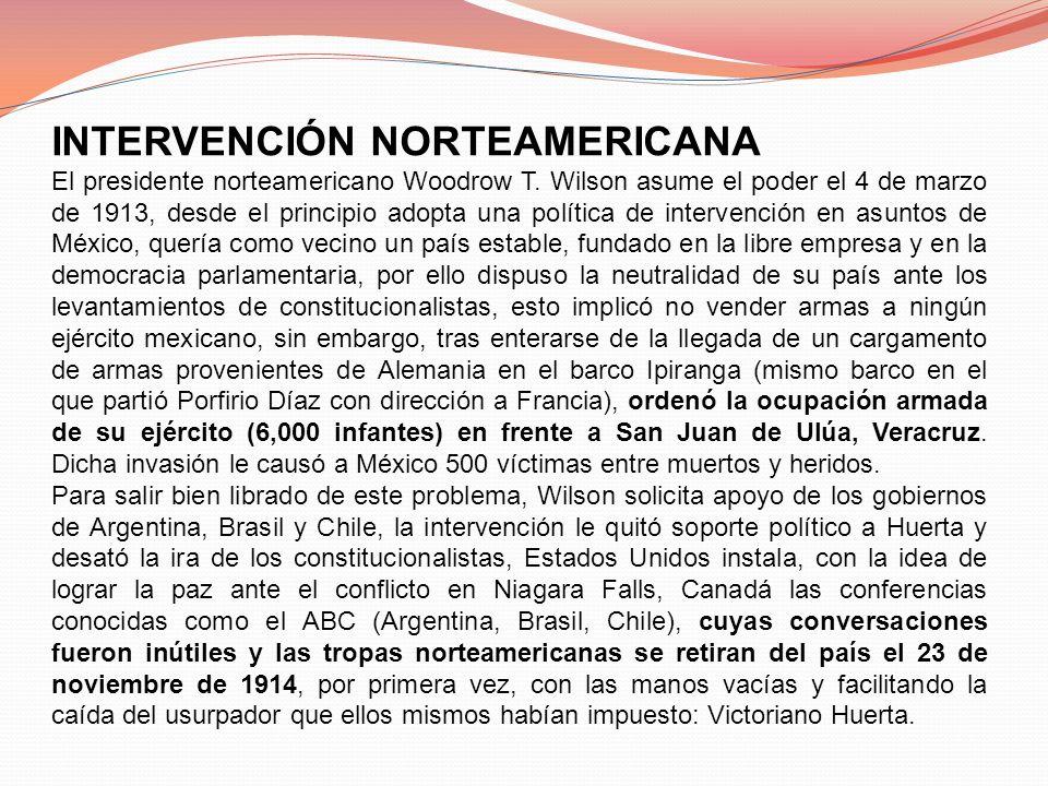 INTERVENCIÓN NORTEAMERICANA