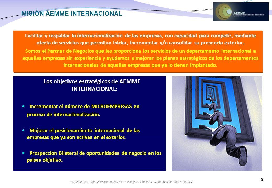 MISIÓN AEMME INTERNACIONAL