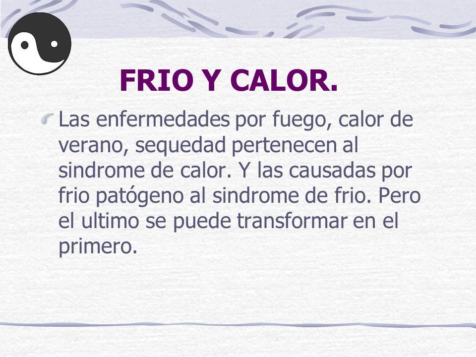 FRIO Y CALOR.