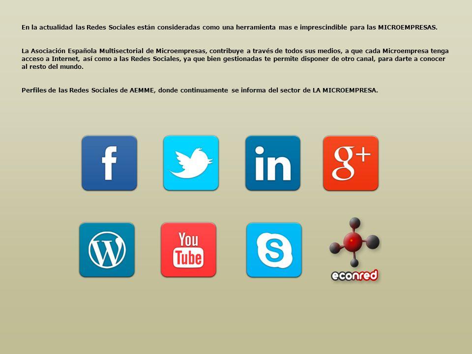 En la actualidad las Redes Sociales están consideradas como una herramienta mas e imprescindible para las MICROEMPRESAS.