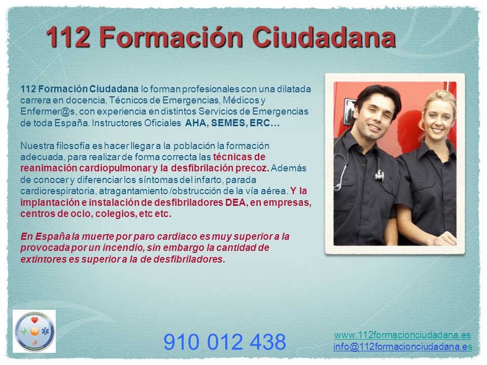 112 Formación Ciudadana