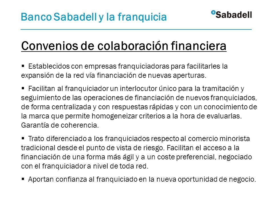 Convenios de colaboración financiera