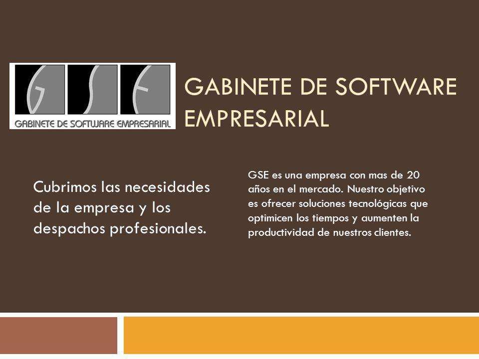 Gabinete de Software Empresarial