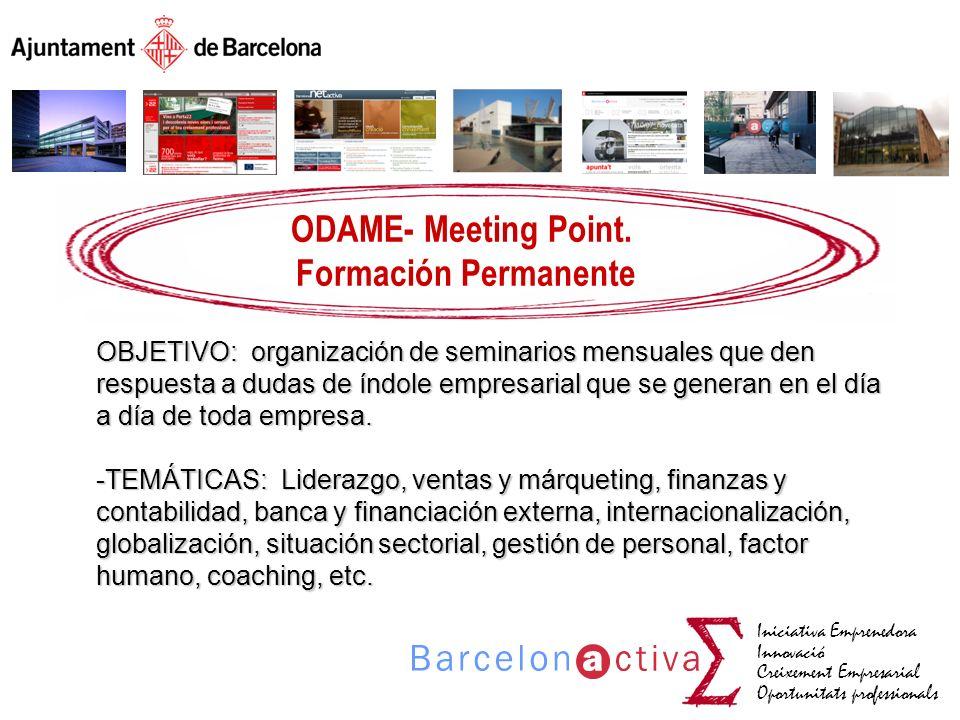 ODAME- Meeting Point. Formación Permanente