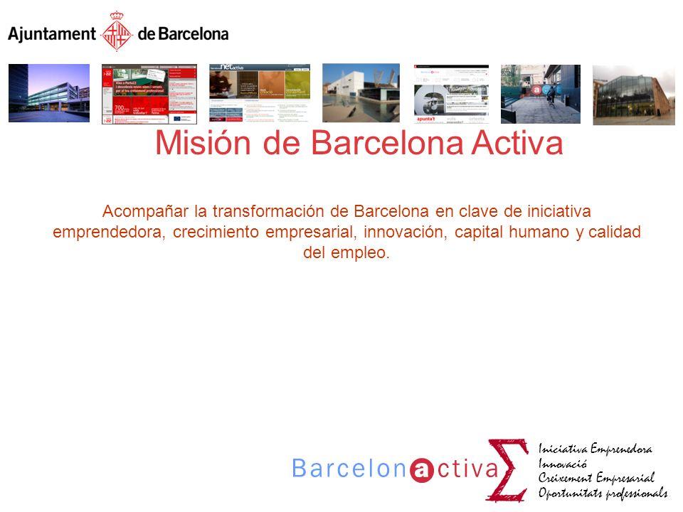 Misión de Barcelona Activa