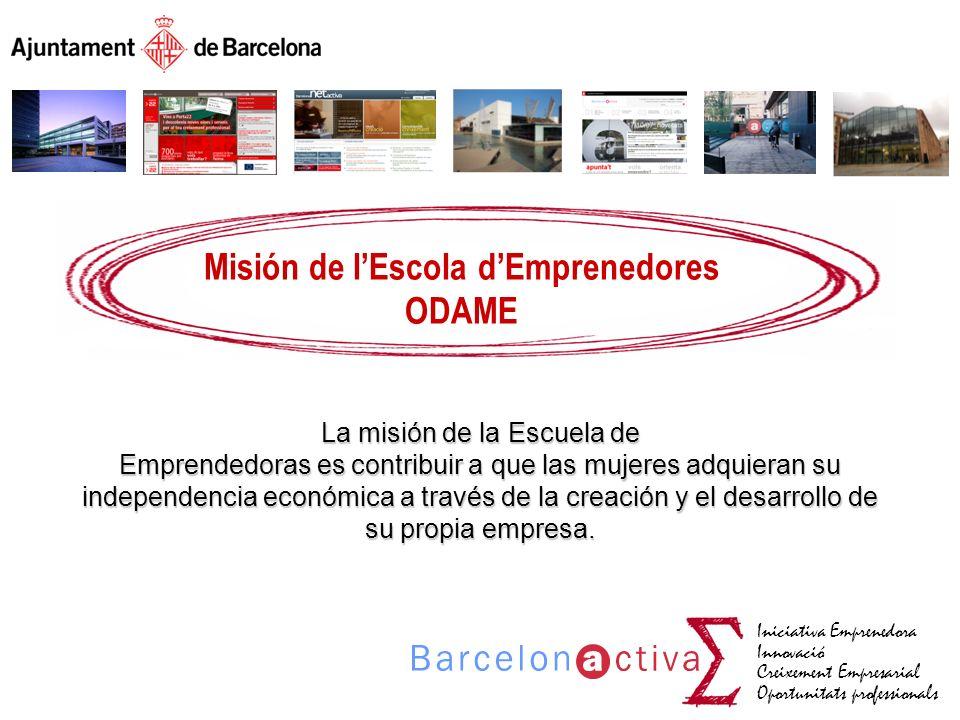 Misión de l'Escola d'Emprenedores