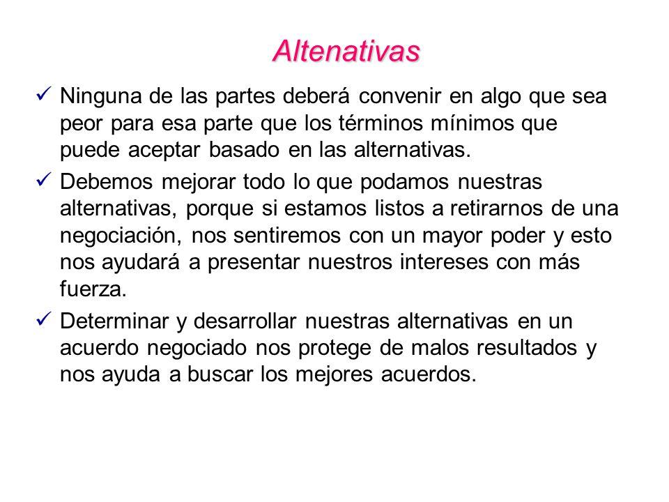 Altenativas