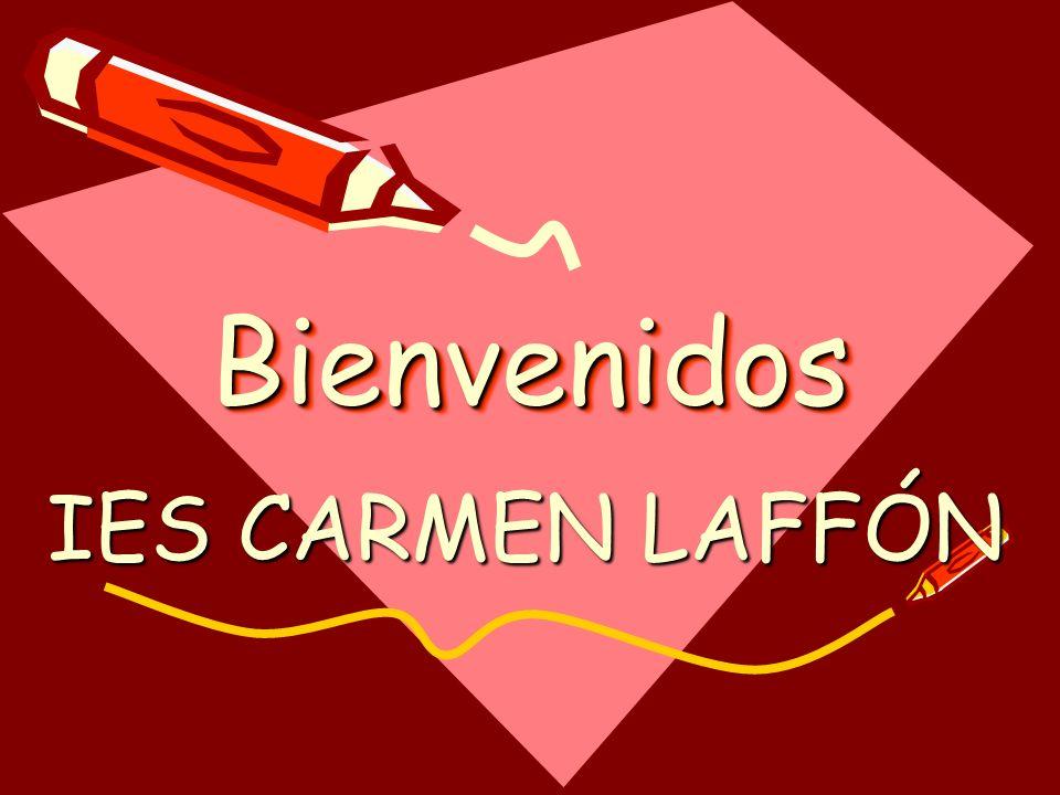 Bienvenidos IES CARMEN LAFFÓN