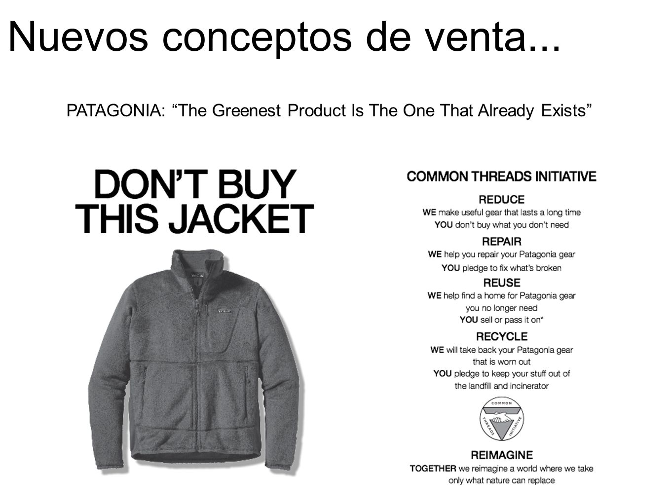 PATAGONIA: The Greenest Product Is The One That Already Exists