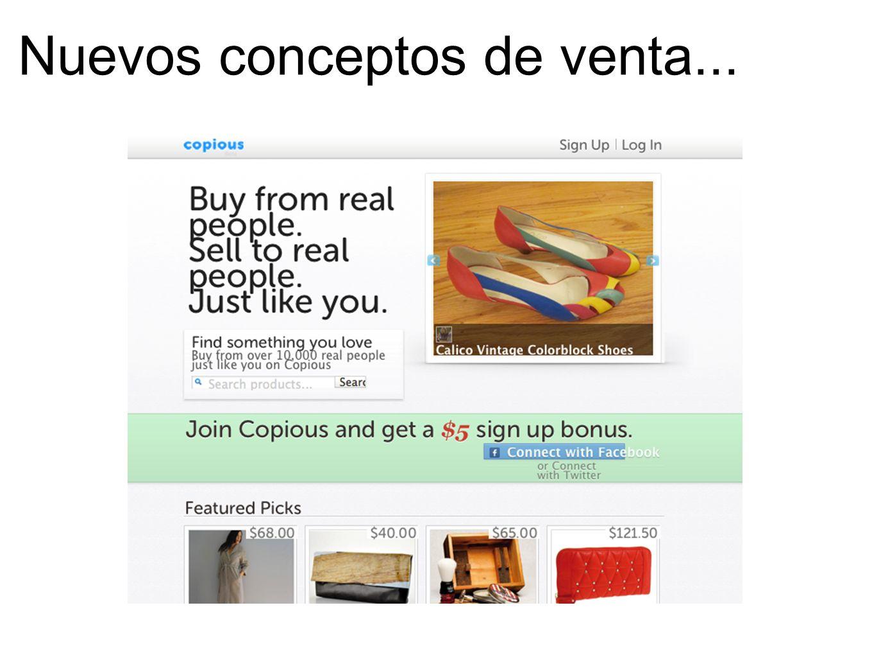 Nuevos conceptos de venta...