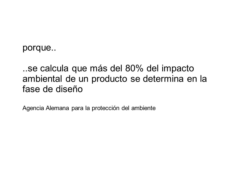 ..se calcula que más del 80% del impacto