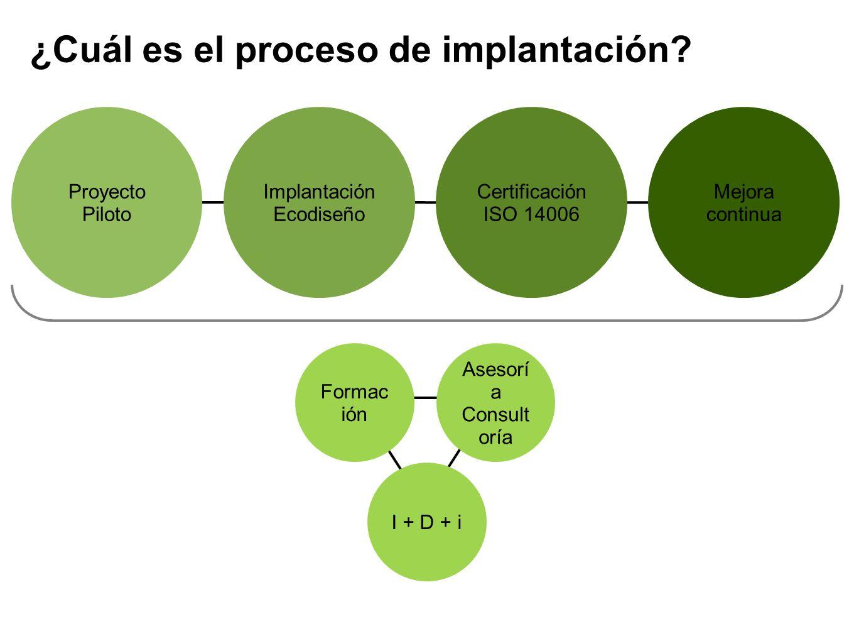 ¿Cuál es el proceso de implantación