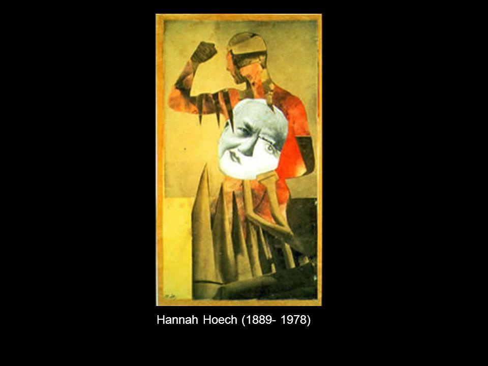 Hannah Hoech (1889- 1978)