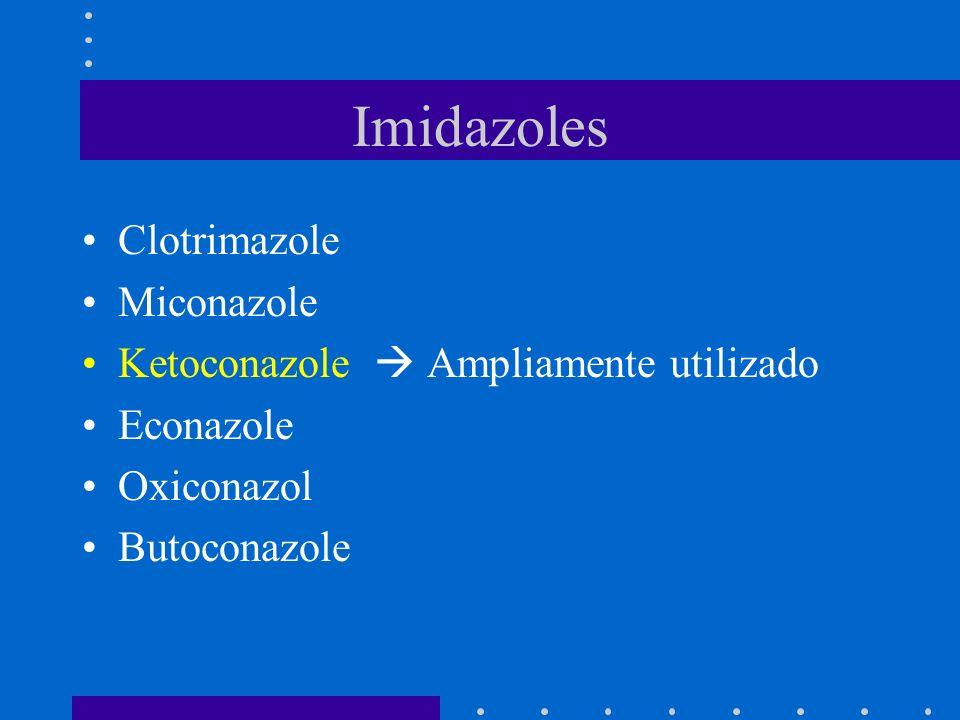 Imidazoles Clotrimazole Miconazole