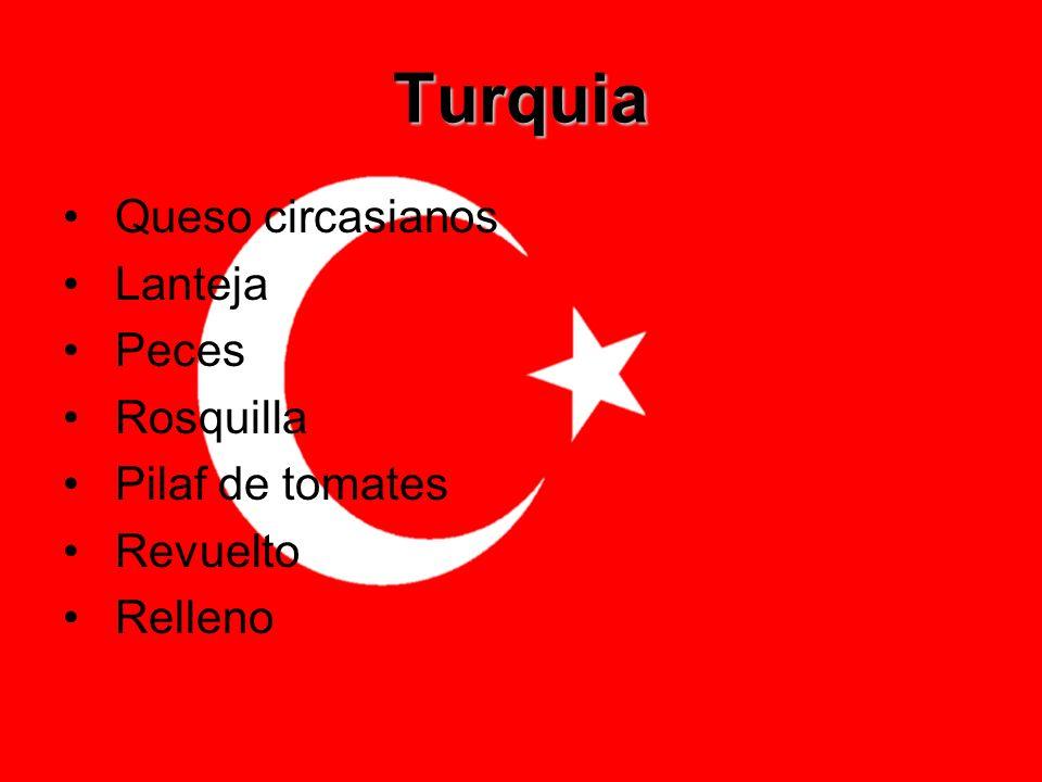 Turquia Queso circasianos Lanteja Peces Rosquilla Pilaf de tomates