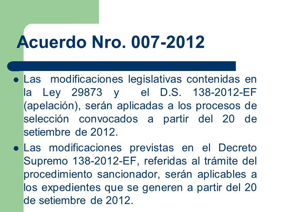 Acuerdo Nro. 007-2012