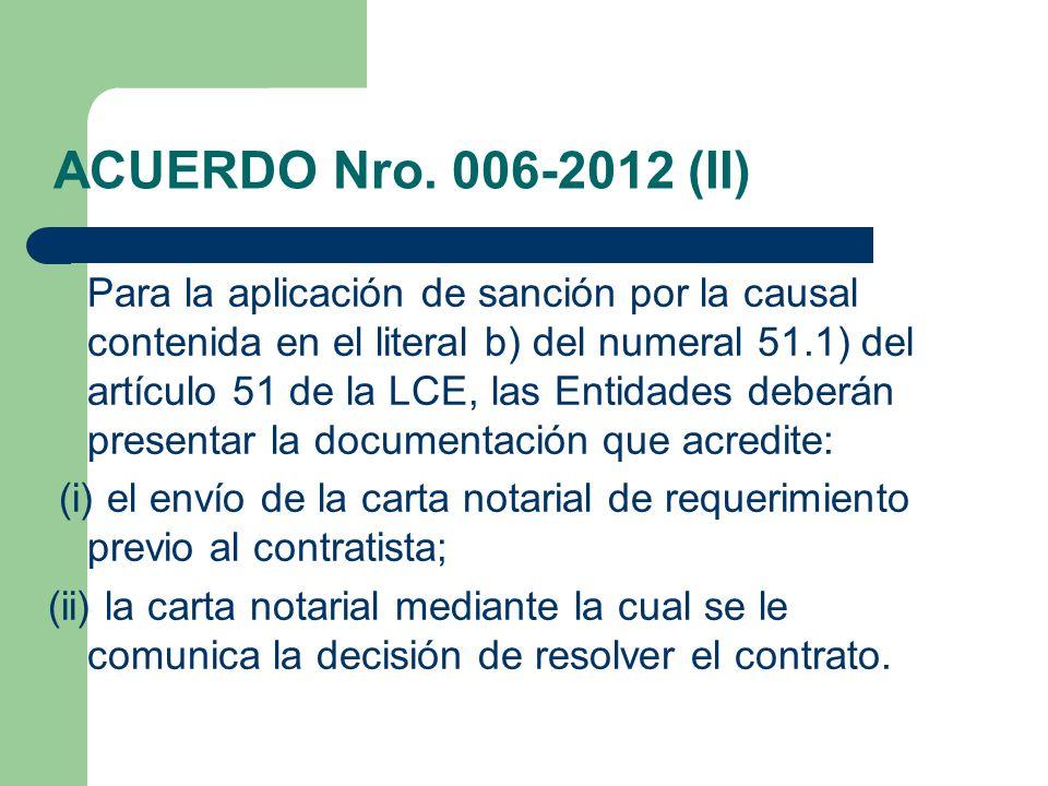 ACUERDO Nro. 006-2012 (II)