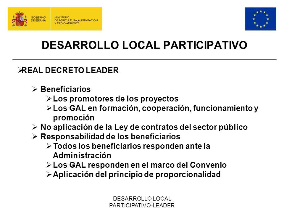 DESARROLLO LOCAL PARTICIPATIVO