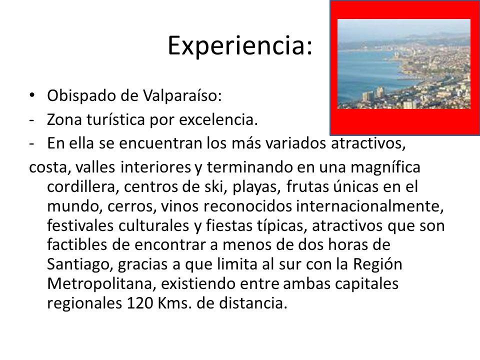 Experiencia: Obispado de Valparaíso: Zona turística por excelencia.