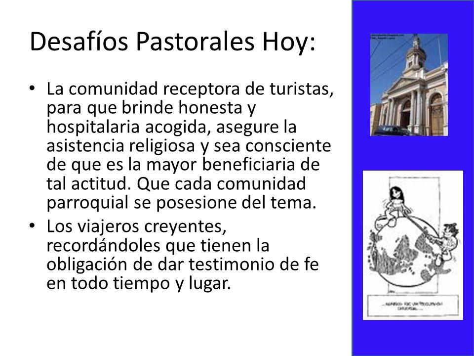 Desafíos Pastorales Hoy: