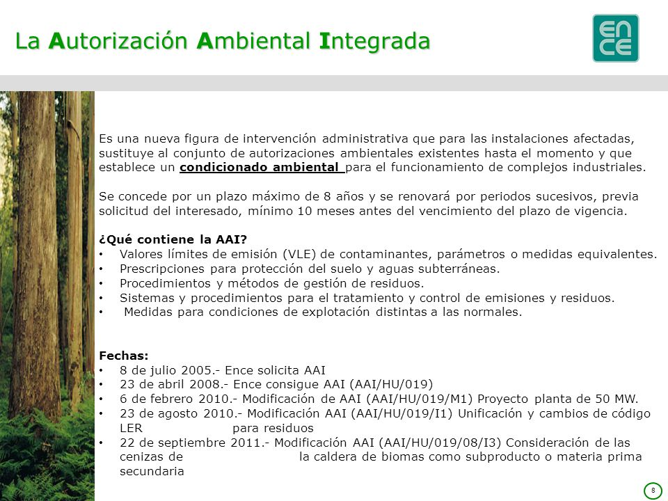 La Autorización Ambiental Integrada