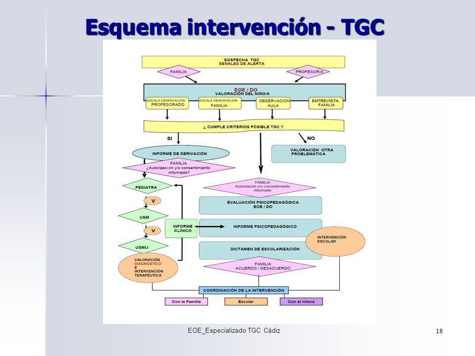 Esquema intervención - TGC