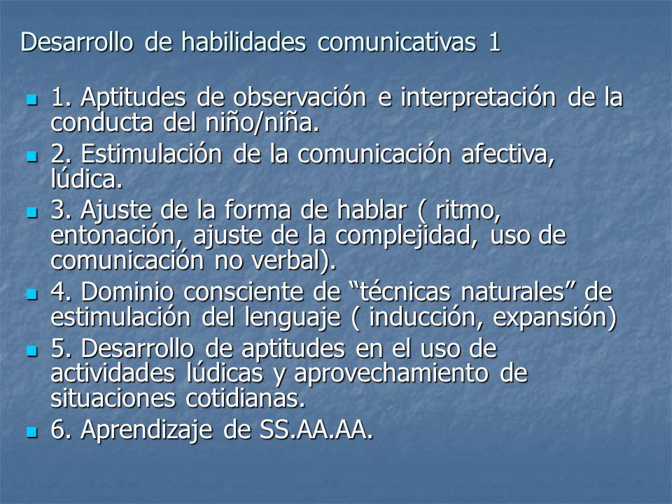 Desarrollo de habilidades comunicativas 1
