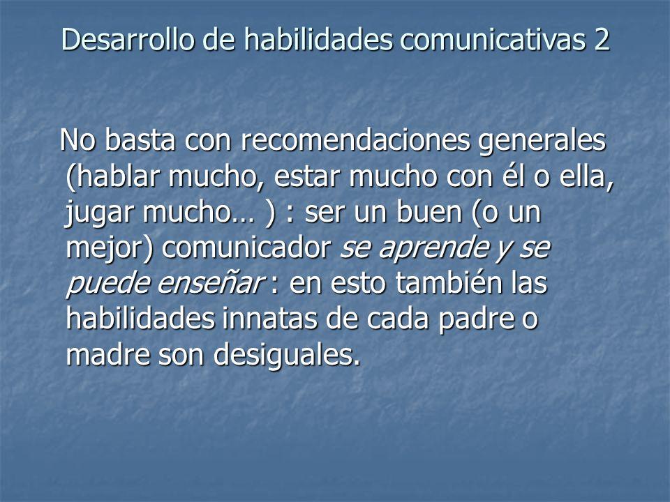 Desarrollo de habilidades comunicativas 2