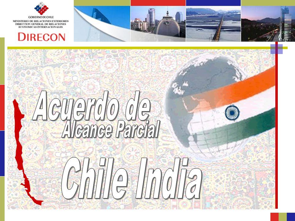 Acuerdo de Alcance Parcial Chile India
