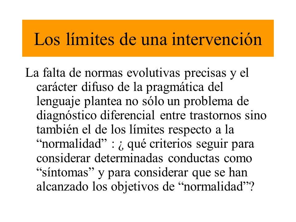 Los límites de una intervención