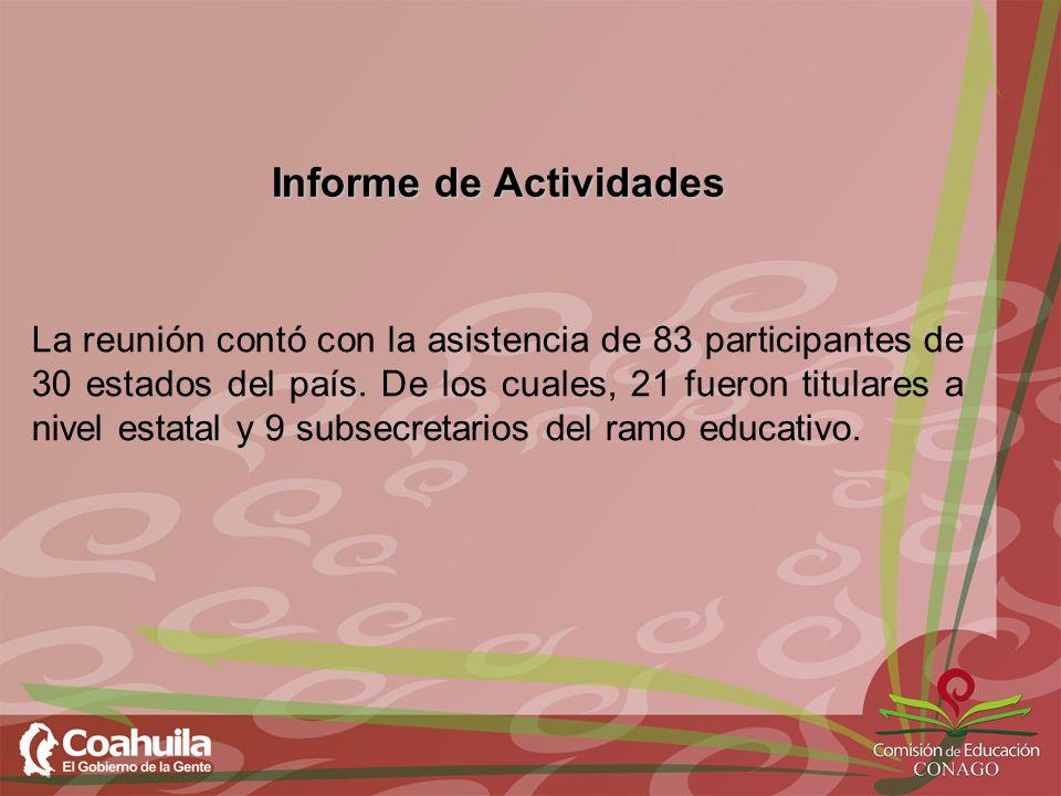 Informe de Actividades