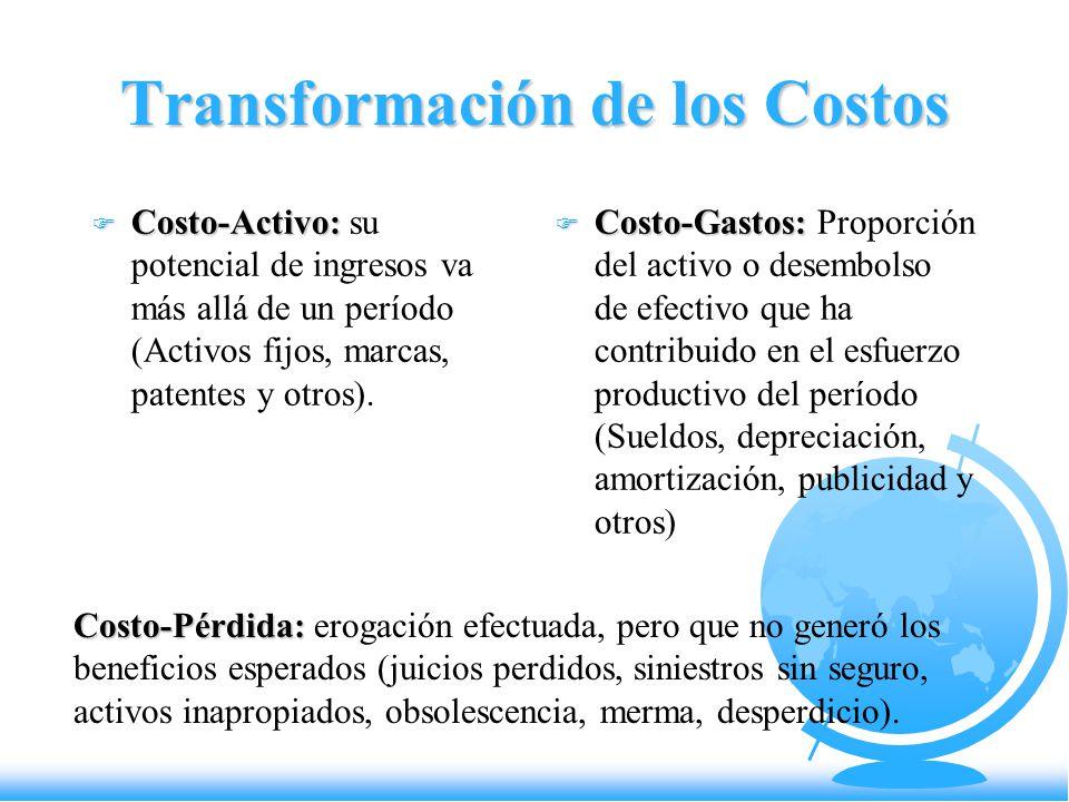 Transformación de los Costos