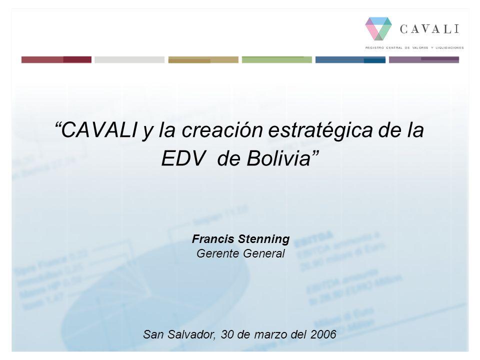 CAVALI y la creación estratégica de la EDV de Bolivia