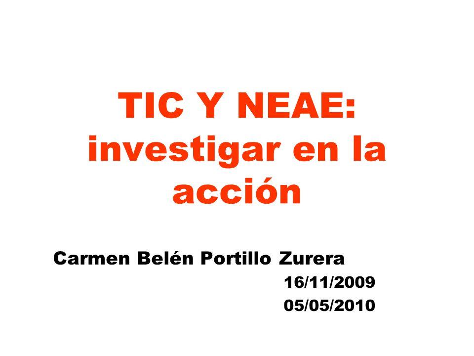 TIC Y NEAE: investigar en la acción