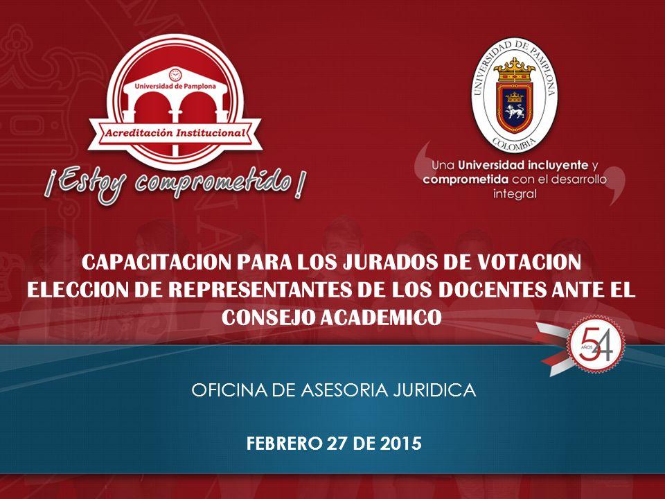 OFICINA DE ASESORIA JURIDICA FEBRERO 27 DE 2015