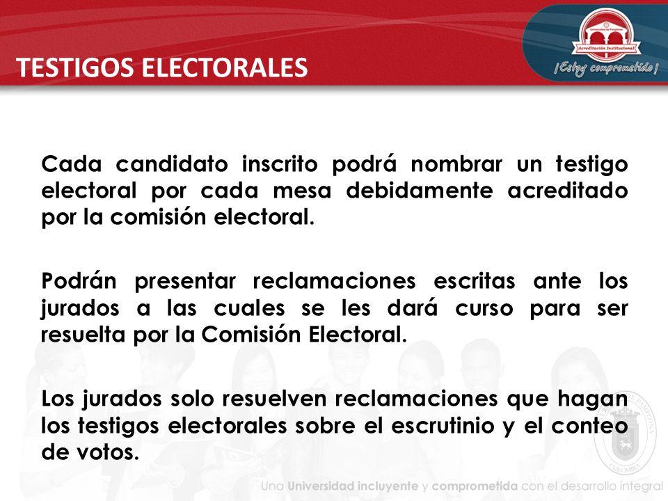 TESTIGOS ELECTORALES