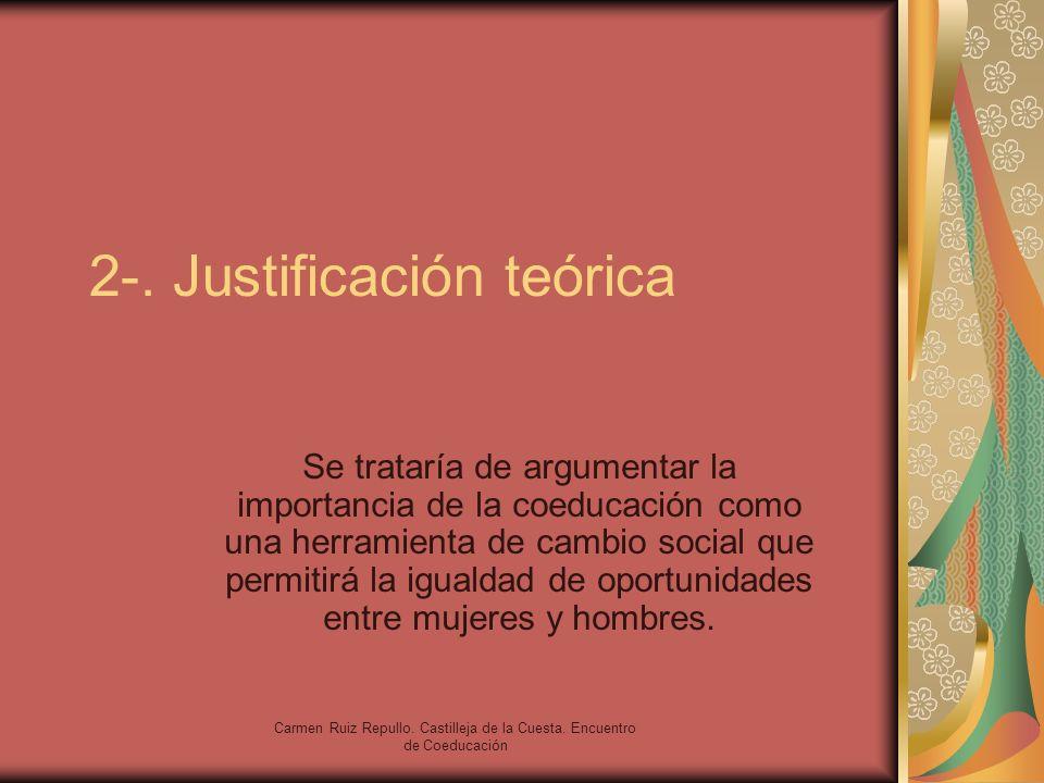 2-. Justificación teórica
