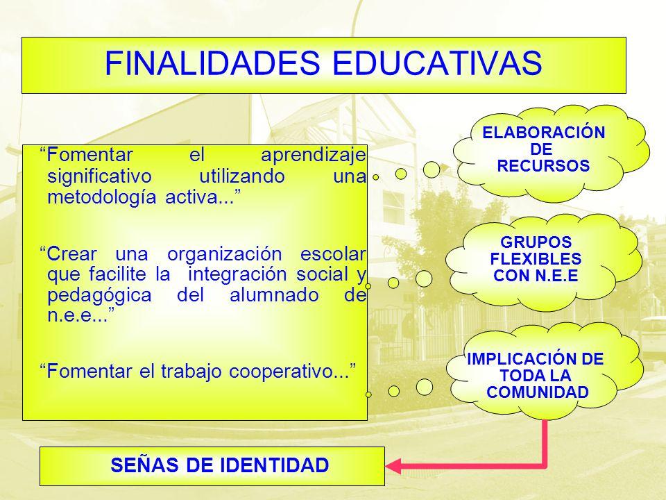 FINALIDADES EDUCATIVAS