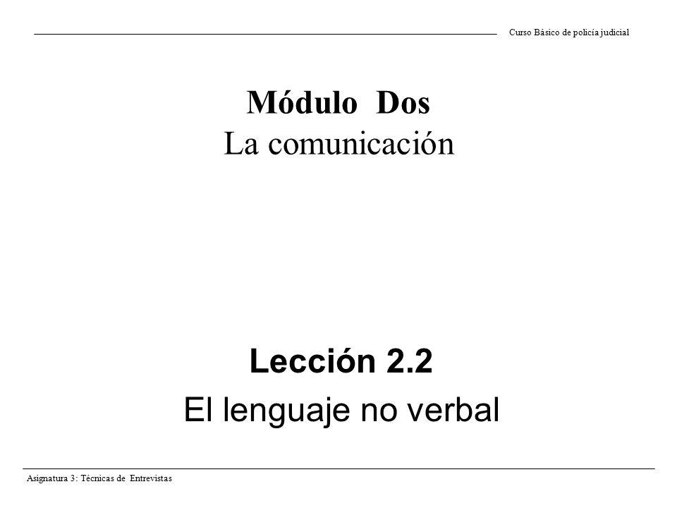 Módulo Dos La comunicación