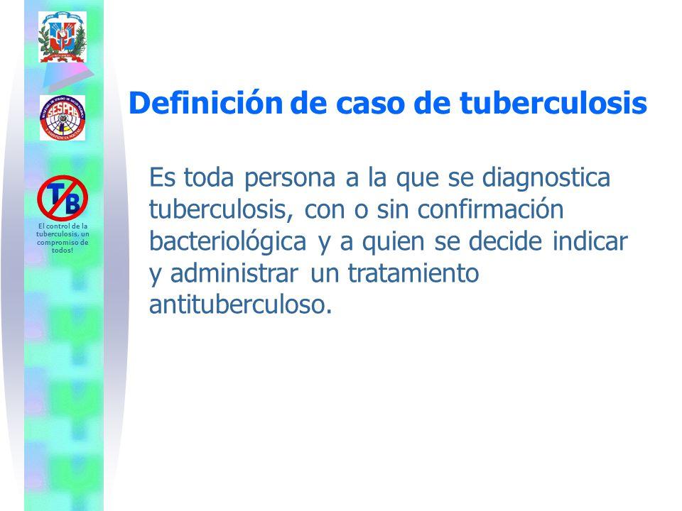 Definición de caso de tuberculosis