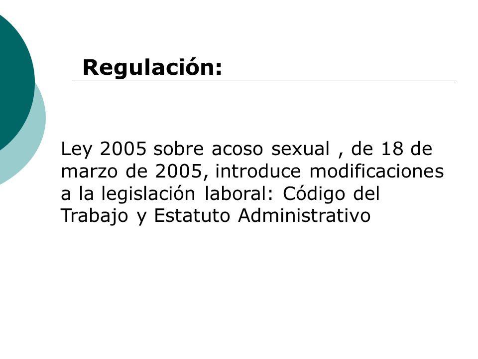 Regulación: