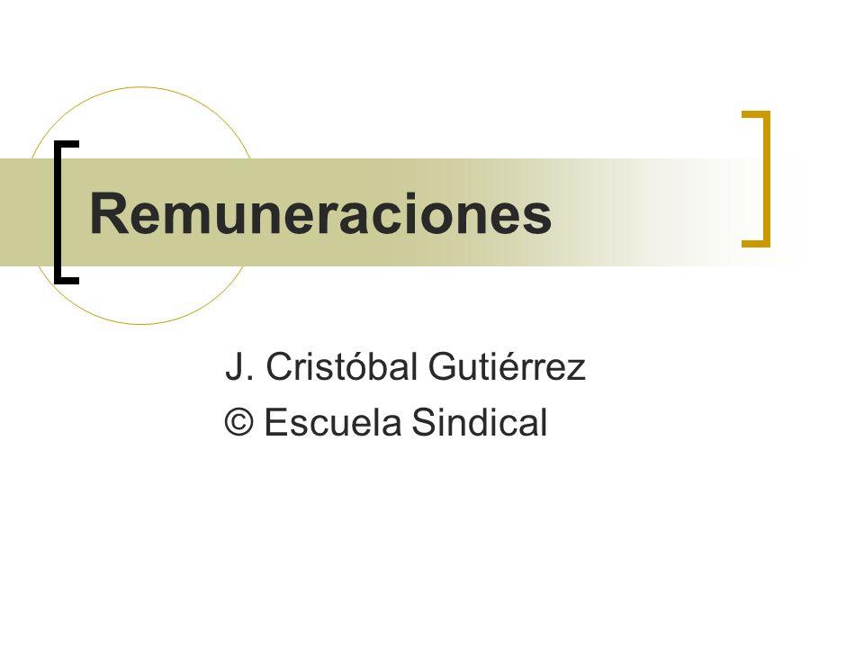 J. Cristóbal Gutiérrez © Escuela Sindical