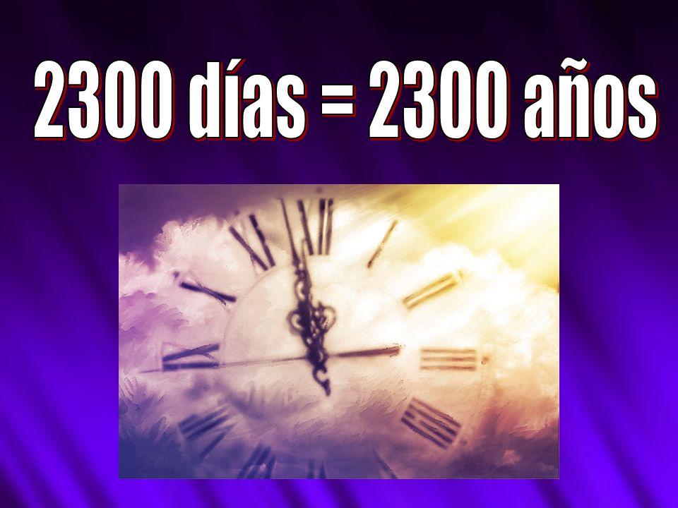 2300 días = 2300 años