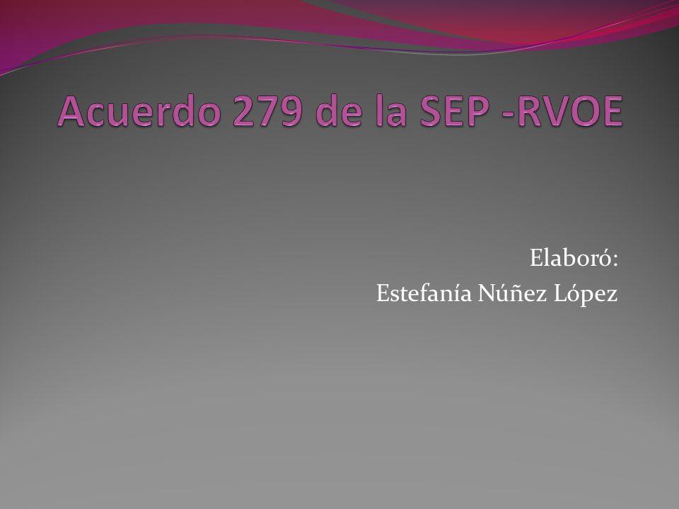 Elaboró: Estefanía Núñez López